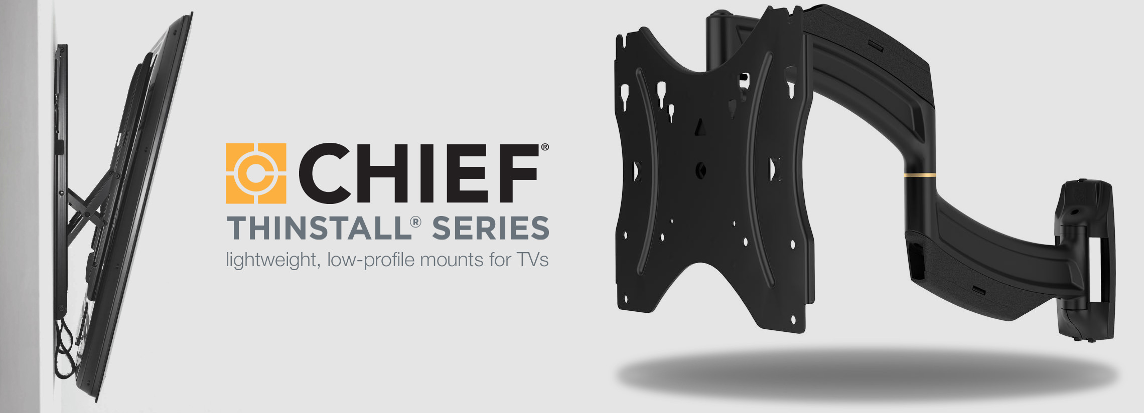 chief thinstall series tv mounts