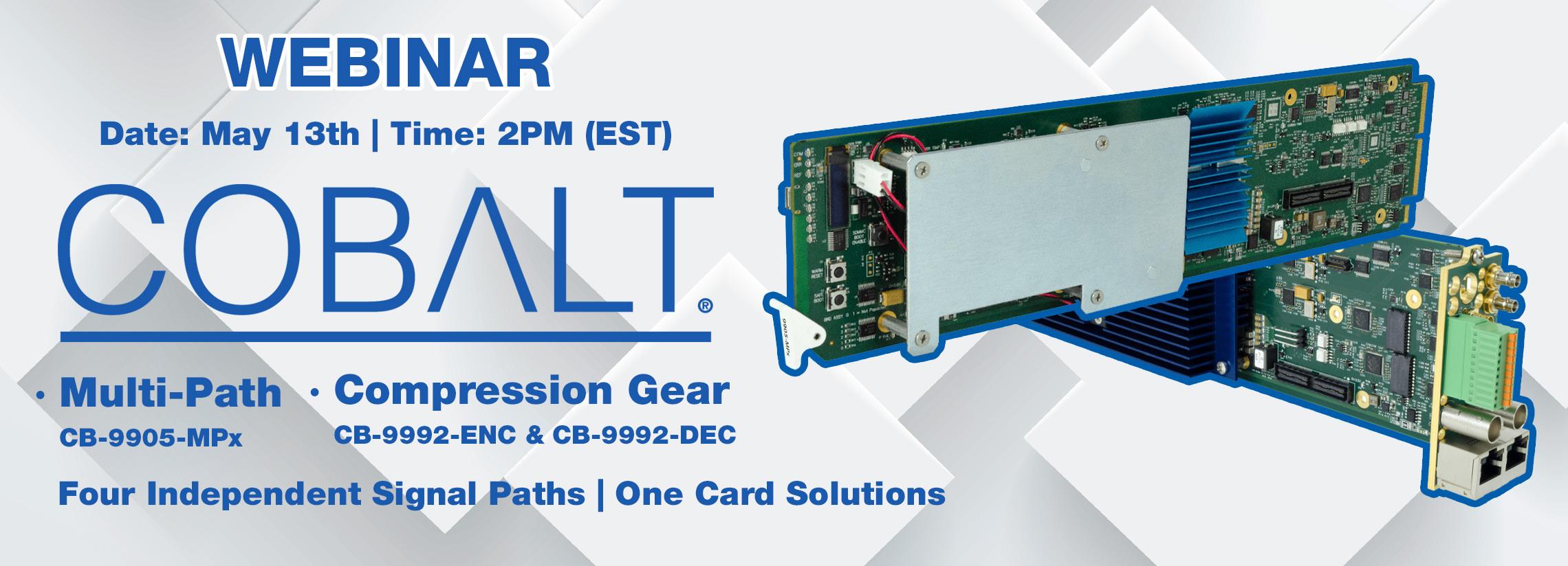 cobalt digital multipath video solutions webinar