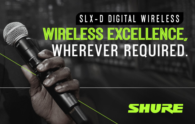 shure slxd wireless systems