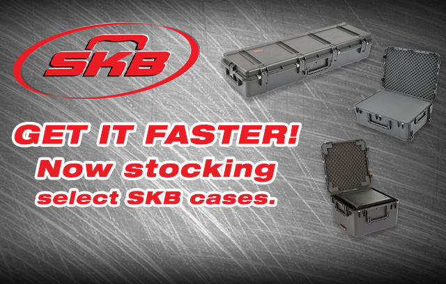 Get it Faster from TecNec, SKB Now in Stock