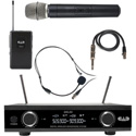 CAD Audio GXLD2HBAI Digital Wireless Combo Handheld and Bodypack Microphone System AI Frequency Band (909.3 - 926.8 MHz)