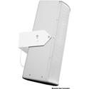 Galaxy Audio LA4DPM Powered Line Array (Permanent Mount) - 100 Watt Amplifier- -XLR 1/4 Inch and 1/8 Inch - White