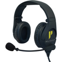 Pliant PHS-SB210E-5M Professional Dual Ear Headset with Smartboom Technology - 5-Pin Male XLR Cable