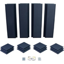 Primacoustic London 10 Studio Acoustic Room Kit for up to 120 Square Feet - Black