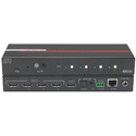 Hall Technologies SW-HD-4A 4K60 4:4:4 4-Port HDMI Fast Switcher with IP RS-232 and IR Control - 3D / HDR / Deep Color